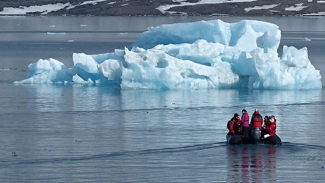 Arktis er på vej til at blive isfri, men det sker næppe allerede i år. Foto: Pixabay
