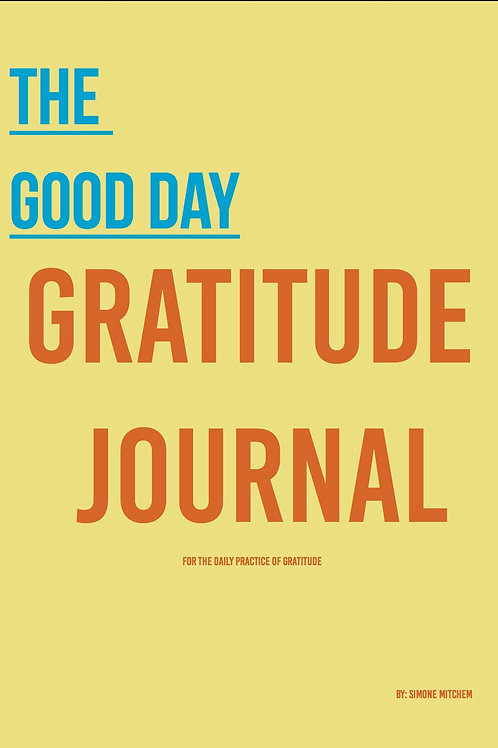 The Good Day Gratitude Journal