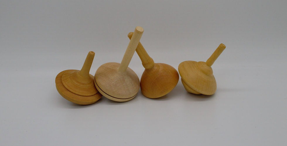 Huon Pine Spinning Top Collection