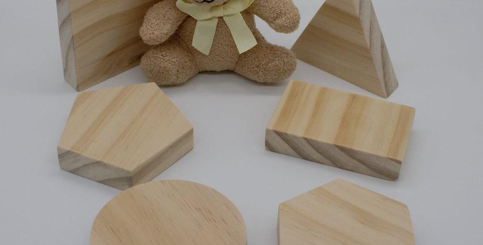 Figurine Set - Basic Shapes
