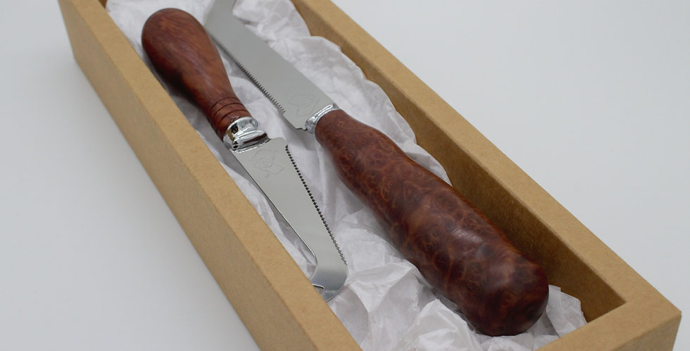 Red Morrel Cheese Knife Set