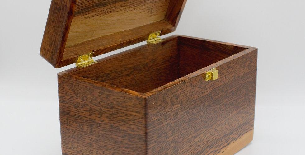 Tiger Myrtle Jewellery Box