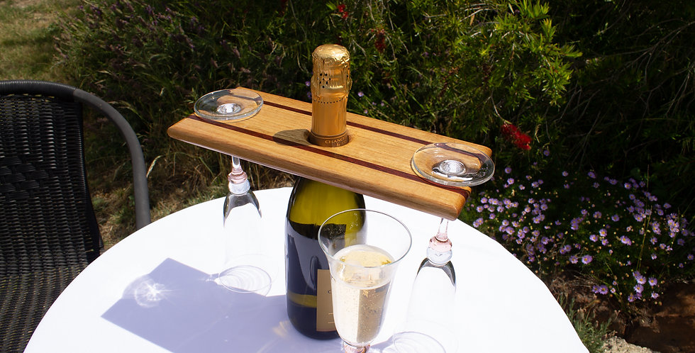 Two Tone Wine Caddy