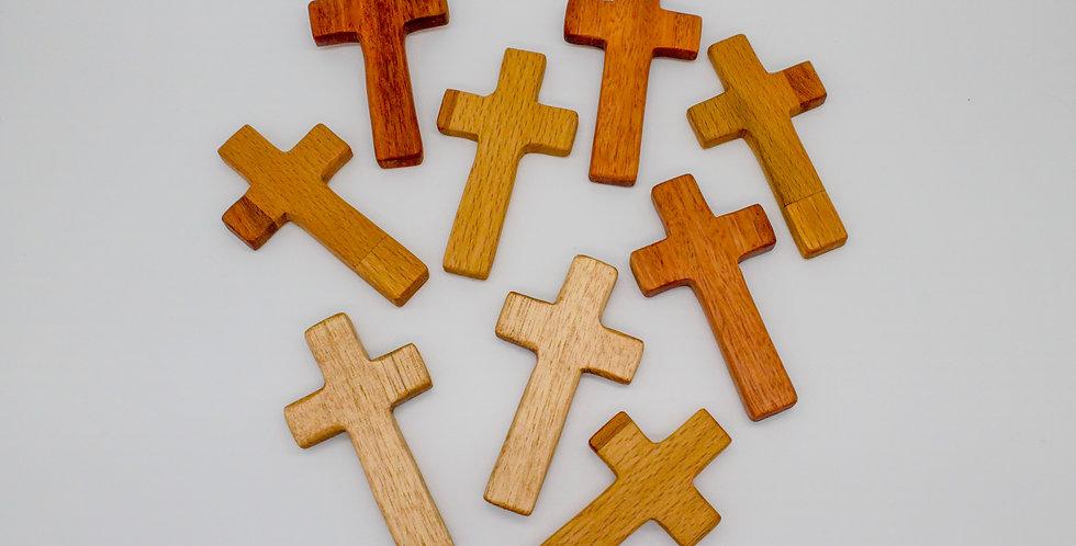 Holding Crosses