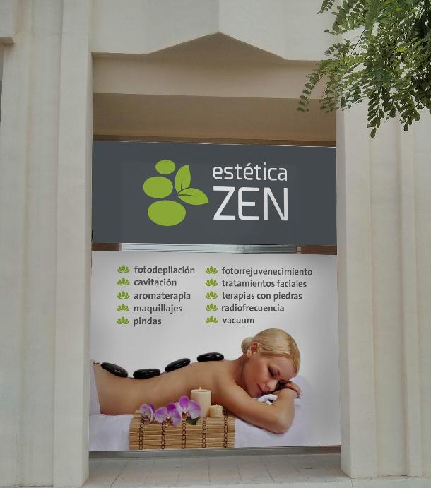 Fachada estética Zen