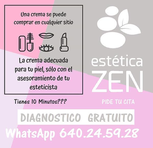 Estetica Zen diagnostico facial corporal