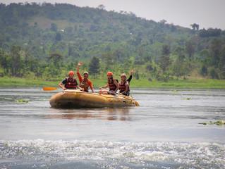 Descenso en rafting por el Nilo Blanco