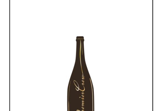 PremierCrew Burgundy Wine Pin