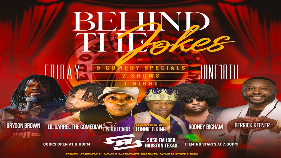 Behind The Jokes Flyer 2021 4 laugh4free