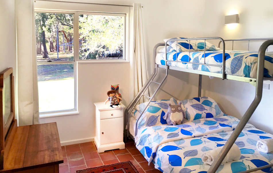 Bed 2 - Bunk, Double & Single Bed