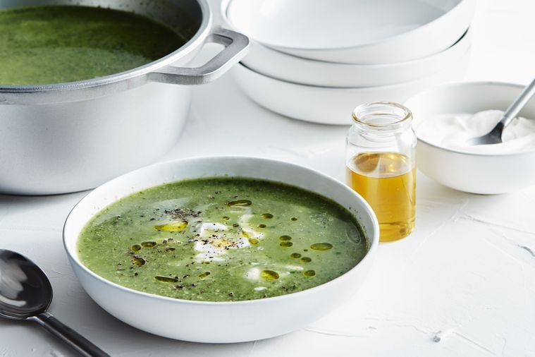 Supergreens soup