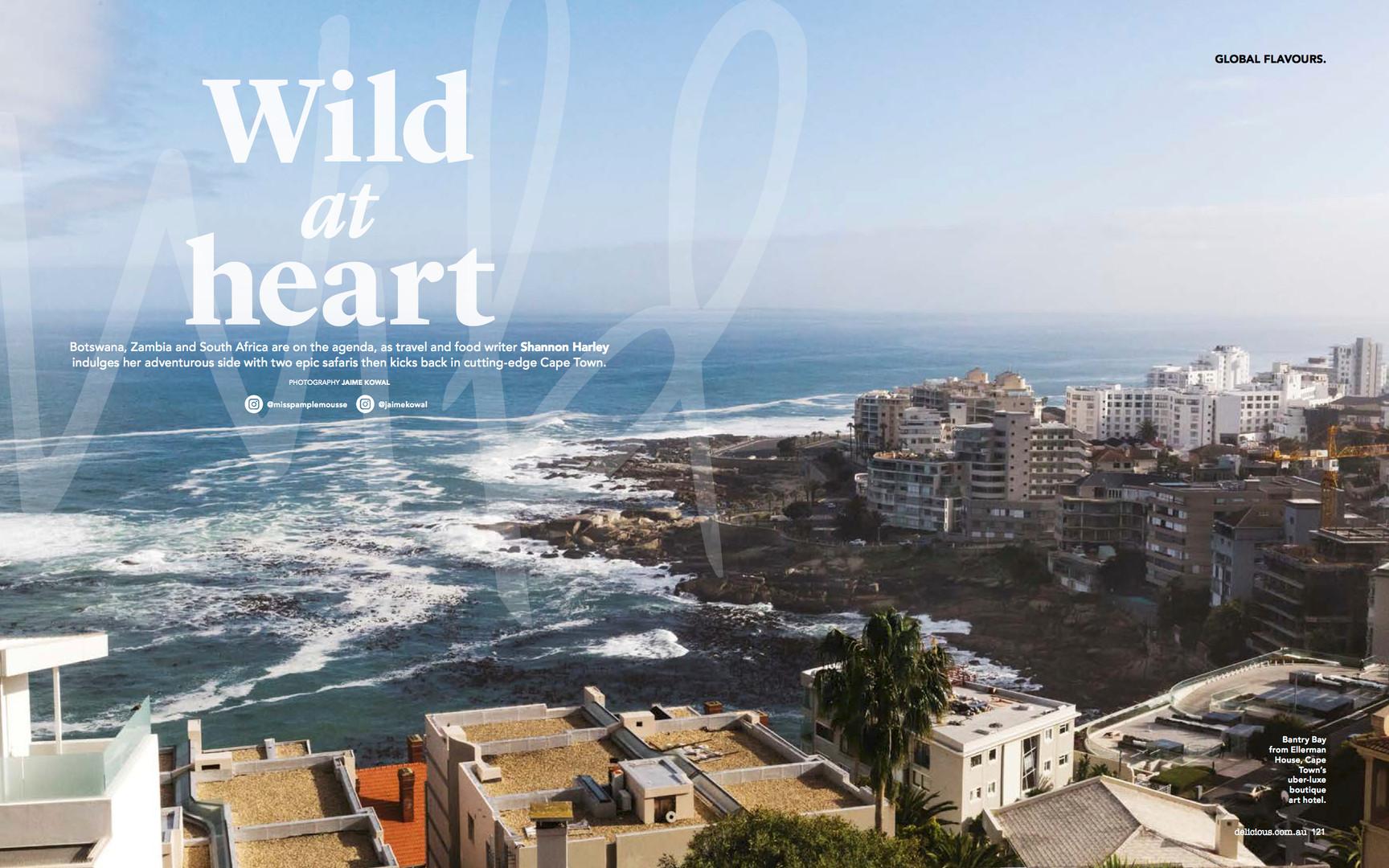 African safari, delicious magazine