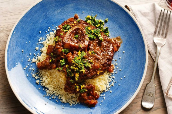 Turkish osso buco