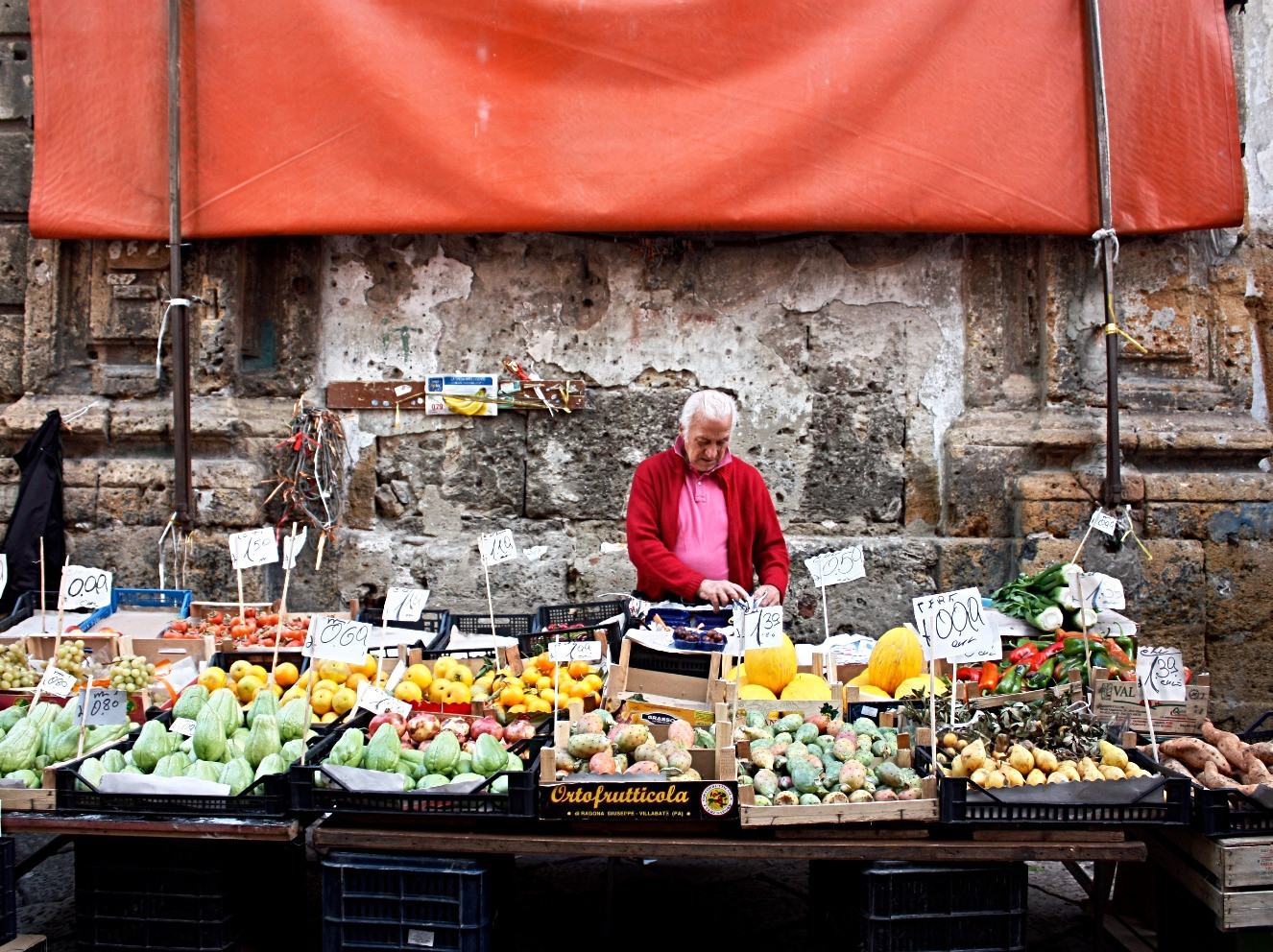 Palermo market, Sicily
