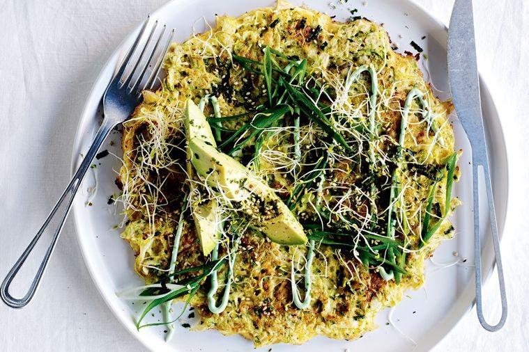 Healthy okonomiyaki