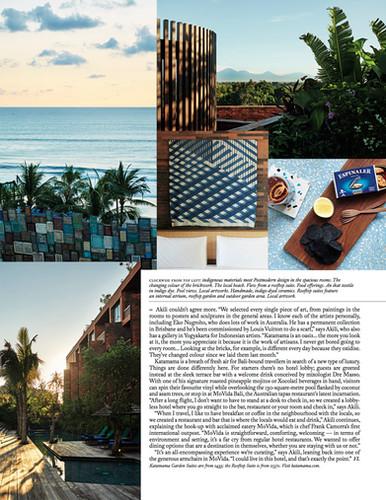 Katamama Bali, Vogue Living