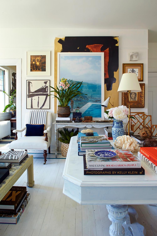 William McClure Coastal Living Room
