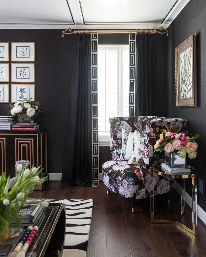 Veronica Solomon Casa Vilora Black Bedroom Houston