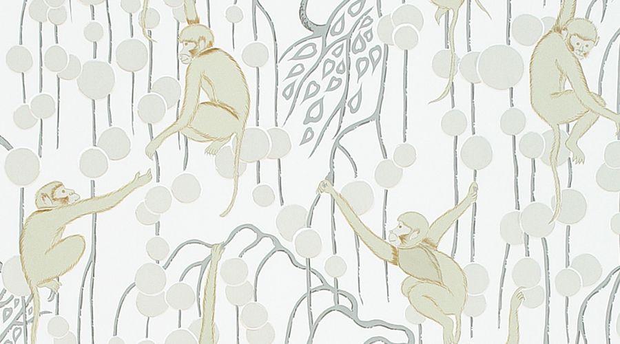 De Gournay Deco Monkeys