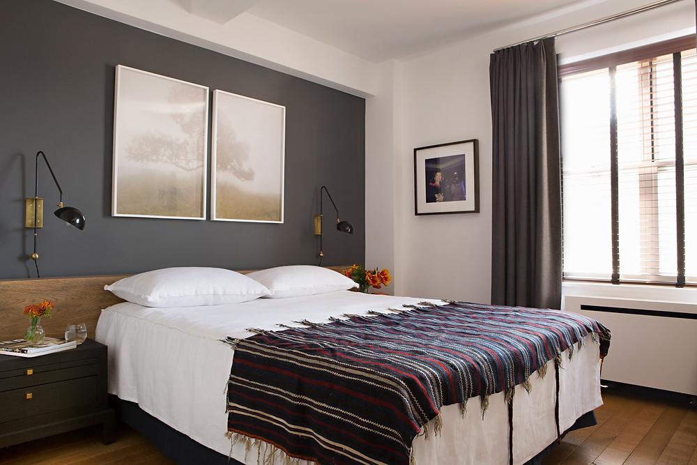Tim Cambell Karyn Millet Architectural Digest Bedroom