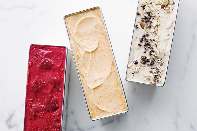 Healthy homemade gelato