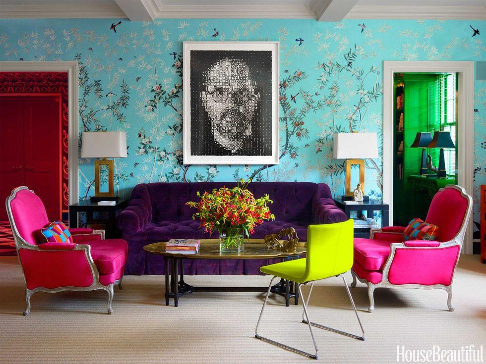 Miles Redd Colorful Manhattan Apartment Bright Architectural Digest
