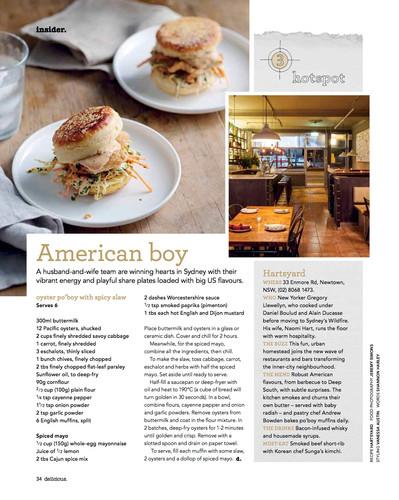 Review: Hartsyard, Sydney, delicious. magazine