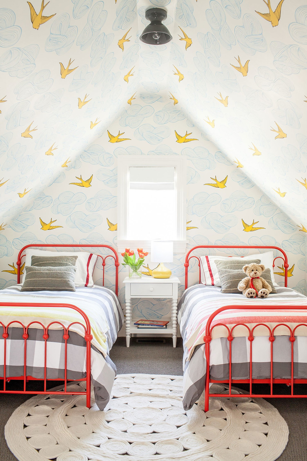 Hygge and West Walmart Red Attic Bedroom Kids