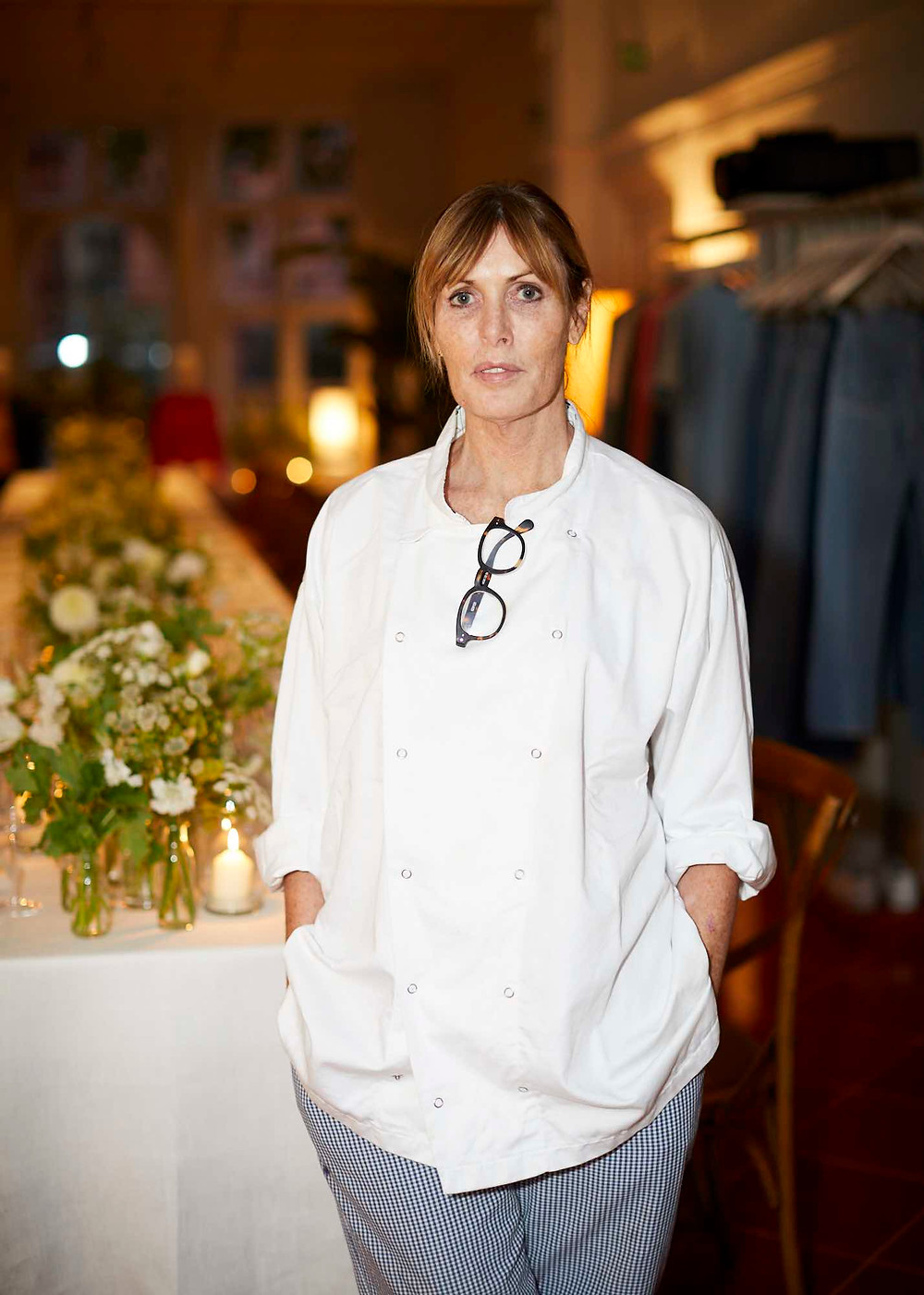 Skye Gyngell at Matches Fashion concept store, 5 Carlos Place in London