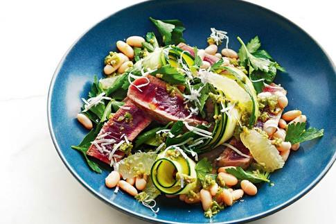 Tuna and bean salad