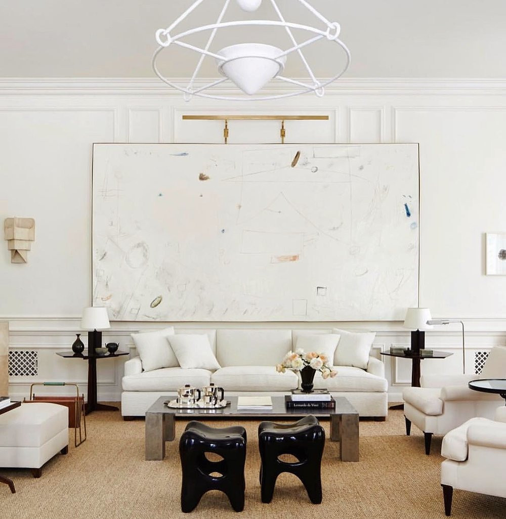 William McClure & Alyssa Kapito Living Room Art
