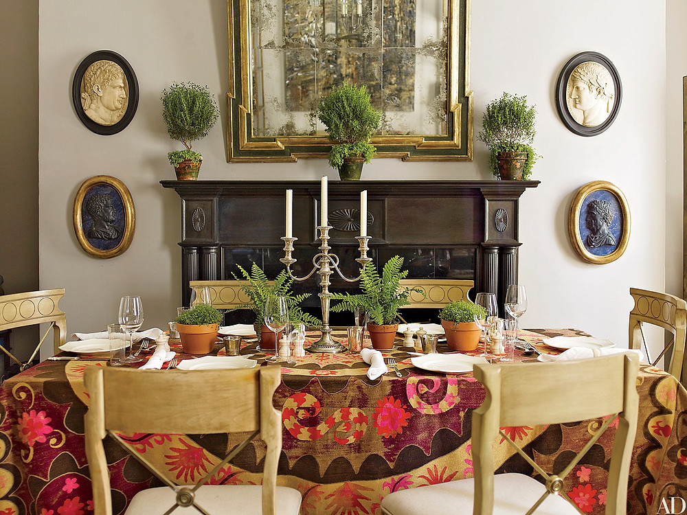 Eric Piasecki Suzani Tablecloth