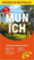 Munich Marco Polo Pocket Travel Guide with Pull Out Map