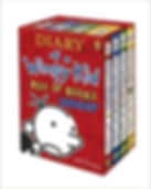 Jeff Kinney - Diary of a Wimpy Kid Box of Books