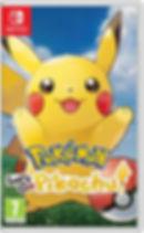 Pokémon Let's Go, Pikachu (Nintendo Switch)
