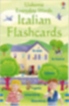 Usbourne Everyday Words - Italian  Flashcards