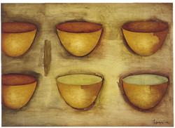 Yellow Bowls 3/04 (2004)