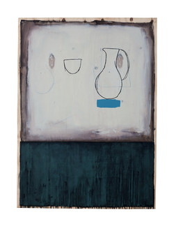 Jug with Blue