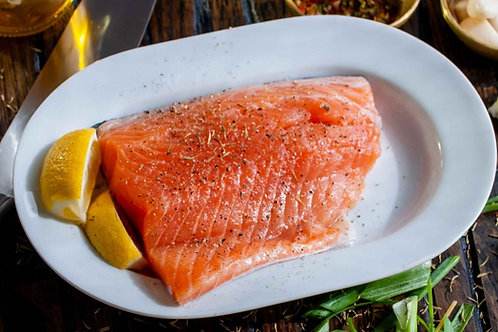 Kiln Roast Side of Salmon 1kg pack