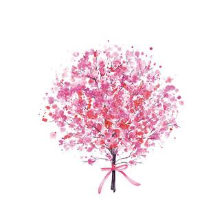 [J]Gypsophila-pink