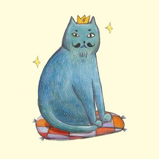 [Coco]Blue-cat
