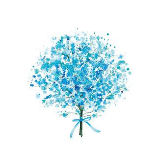 [J]Gypsophila-blue