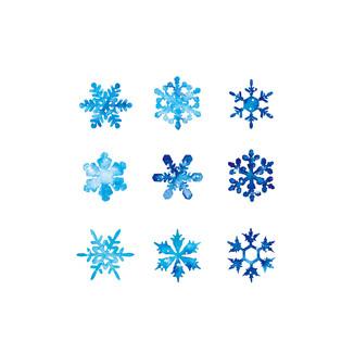 [J]Snow-flake-pattern