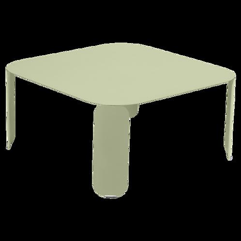 FERMOB - BEBOP - Table basse carrée 90x90 cm H42 cm