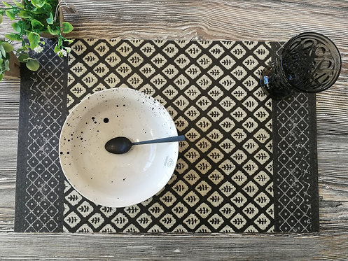 "BEIJA FLOR - Set de table - ""Bohémian3"""