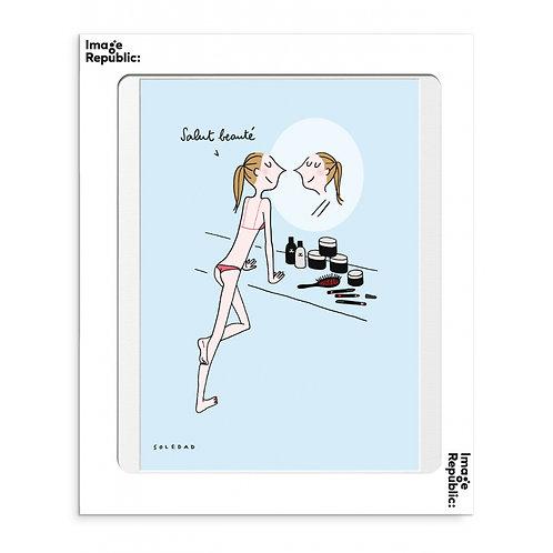 """IMAGE REPUBLIC - Affiche """"BELLE"""""""
