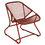 Thumbnail: FERMOB - SIXTIES Fauteuil - Ocre rouge