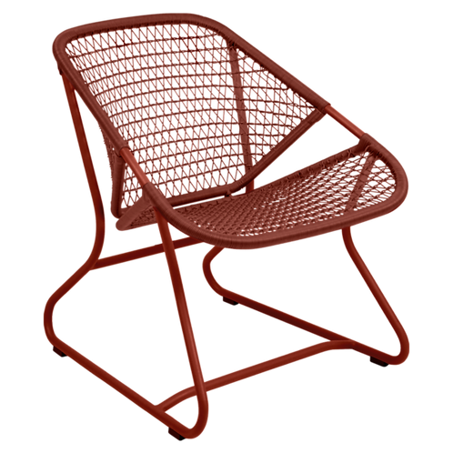 FERMOB - SIXTIES Fauteuil - Ocre rouge