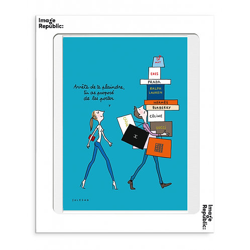 """IMAGE REPUBLIC - Affiche """"ARRETES"""""""