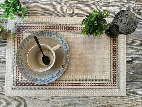 "BEIJA FLOR - Set de table - ""Bohémian15"""